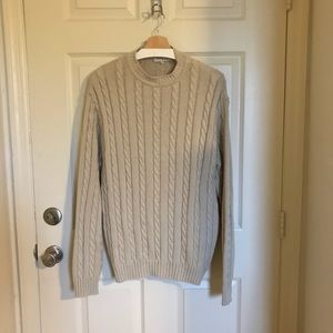 Rodier Homme Cable Knit Sweater